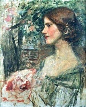 Waterhouse - Study for The Bouquet
