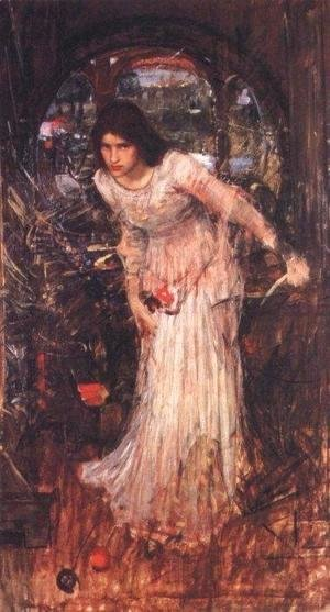 Waterhouse - Study for The Lady of Shalott