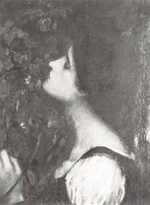 Waterhouse - Study for The Soul of the Rose