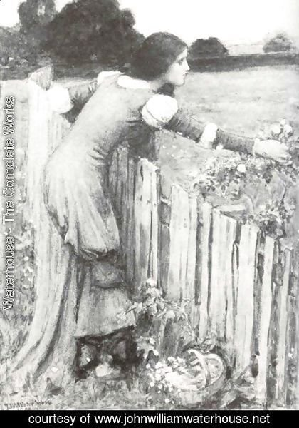 Waterhouse - The Flower Picker I