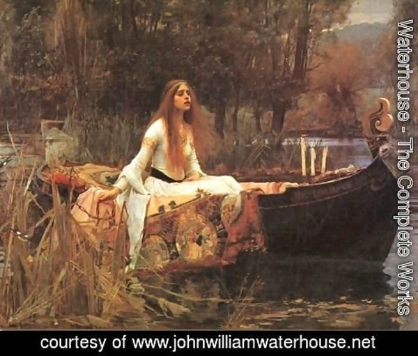 Waterhouse - The Lady of Shalott III