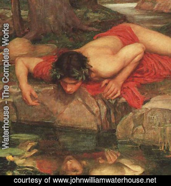 Waterhouse - Narcissus cropped