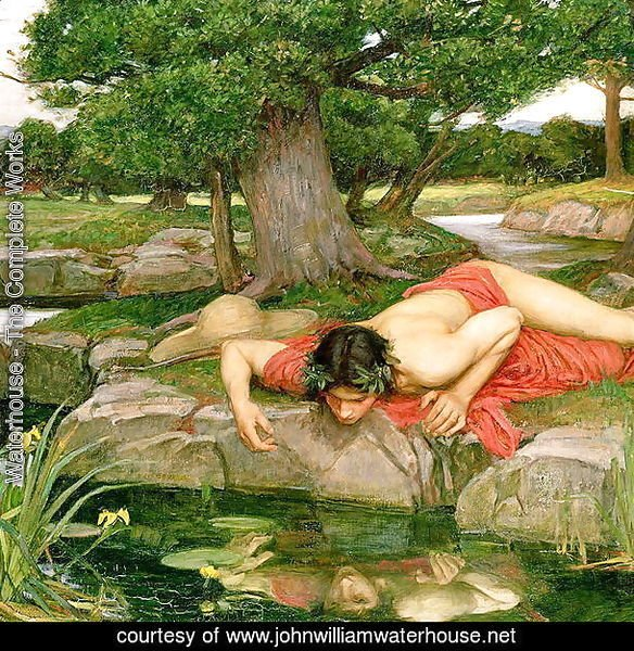 Echo and Narcissus 1903 2
