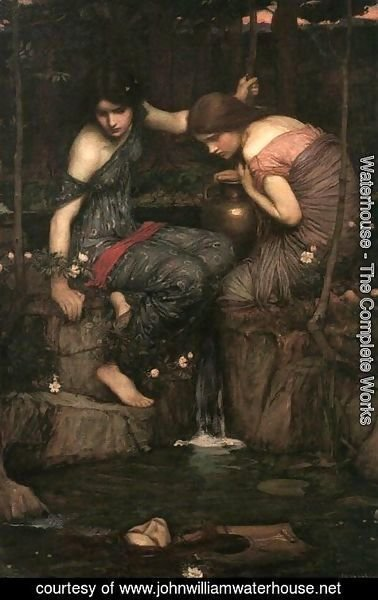 Waterhouse - Nymphs Finding the Head of Orpheus