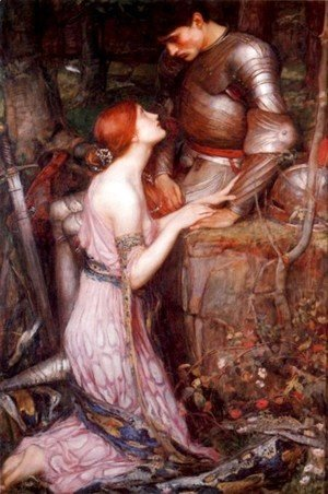 Waterhouse - Lamia and the Soldier