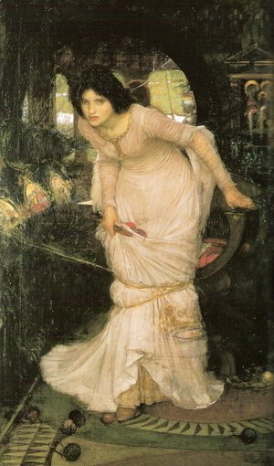 Waterhouse - The Lady Of Shalott