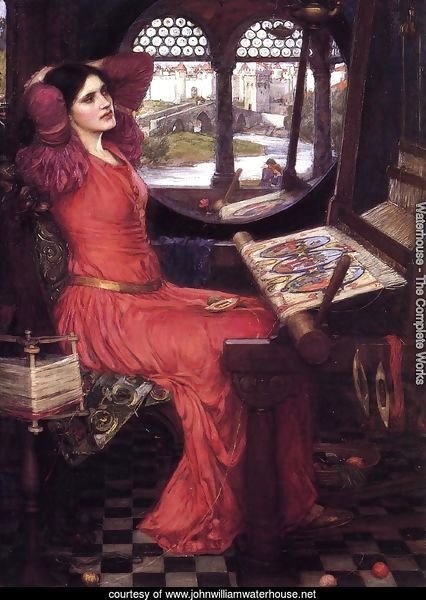 I am Half Sick of Shadows, Said the Lady of Shalott  c.1916