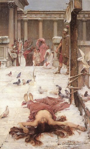 Waterhouse - Saint Eulalia