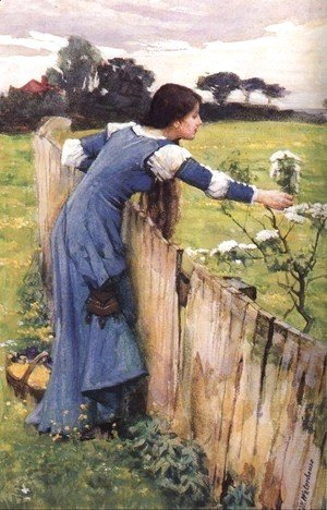 Waterhouse - The Flower Picker