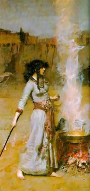 Waterhouse - The Magic Circle