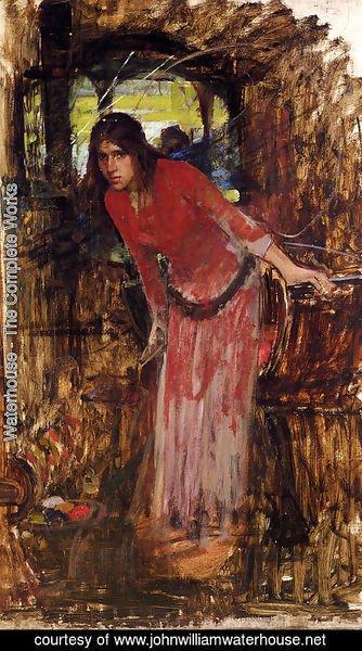 Waterhouse - Study For The Lady Of Shallot